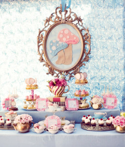 Alice-tea-party-dessert-table