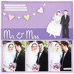 Wedding Scrapbook ect